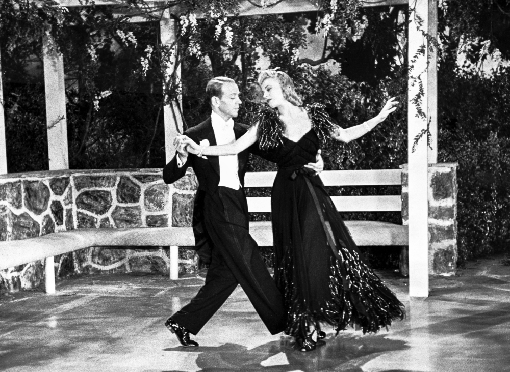 Fred Astaire And Ginger Rogers Dancing In Gazebo Photo Print Item Varcel680812 Posterazzi