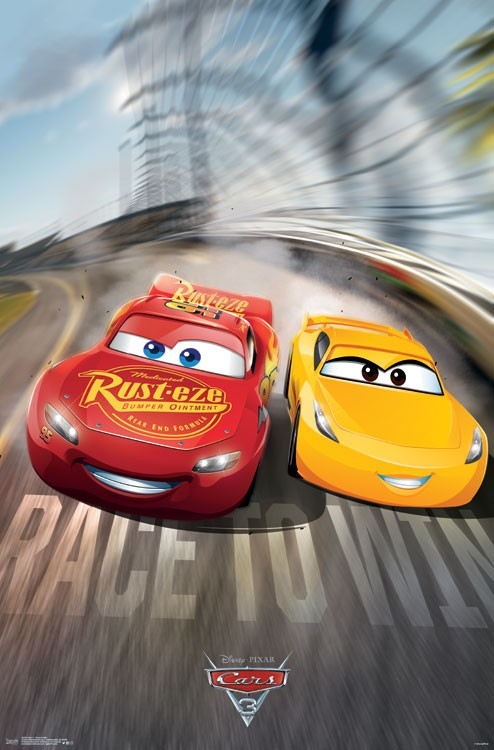 Cars 3 Race To Win Poster Print Item Vartiarp15233 Posterazzi